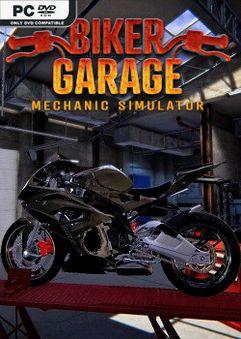 Biker Garage Mechanic Simulator Junkyard-PLAZA