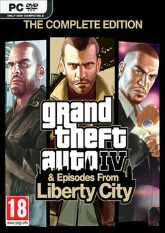 Grand Theft Auto IV The Complete Edition-Goldberg