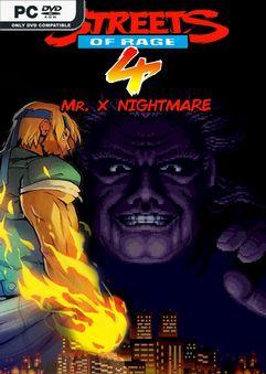 Streets Of Rage 4 Mr X Nightmare-CODEX